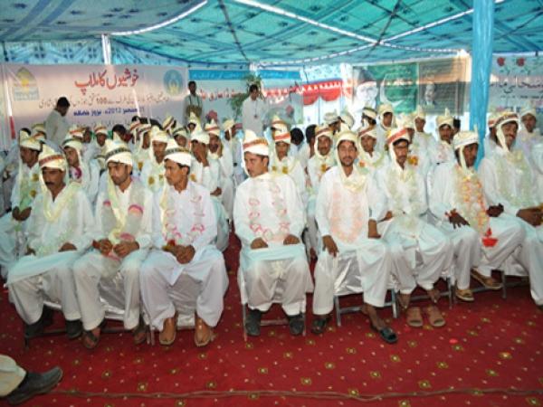 Marriage Ceremony Organized By IK Trust